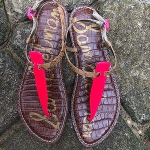 Sam Edelman Gigi Pink Sandals Size 8